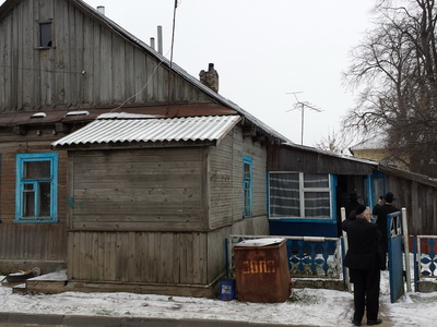 Typical dwelling house in Kletsk