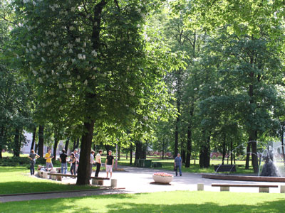 Minsk weather is at best in late spring and summer